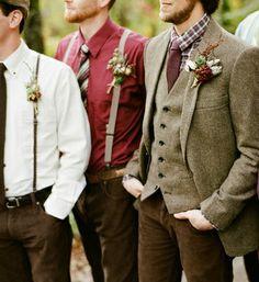 tweed men