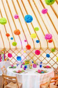 yurt pompoms