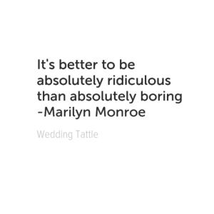 marilyn boring quote