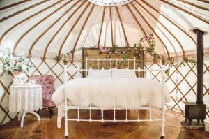 springtime honeymoon yurt