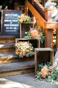 style me pretty flower crates