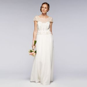 debut Ivory Embellished wedding dress- debenhams
