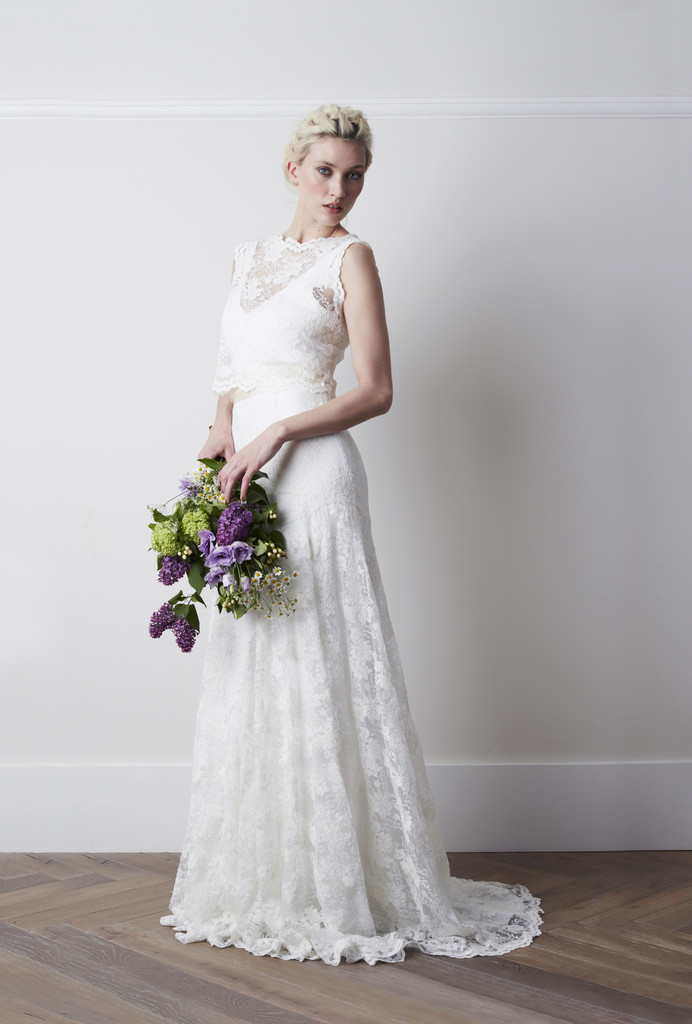 Wedding dress wednesday charlie brear wedding tattle for Website for wedding dresses