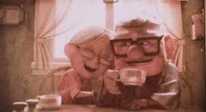 up couple